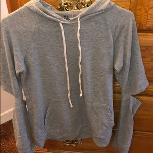 💕hooded sweatshirt with open elbows💕item must go